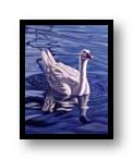 "Painting:""Afloat"" - ©1976-C.E.Newland - acrylic - private collection"