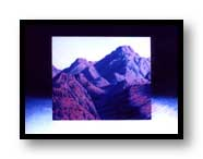 "Painting:""Squaw Peak""-©1996 - acrylic on watercolor board - Private collection"